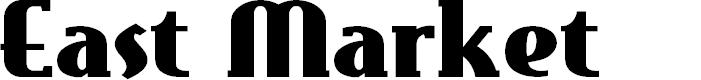 Preview image for EastMarket Font