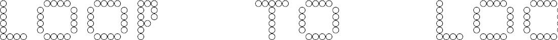 Preview image for Loop to Loop Regular Font