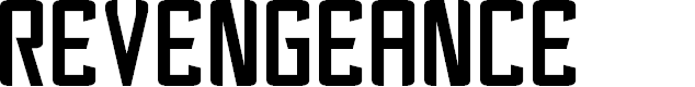 Preview image for Revengeance Font
