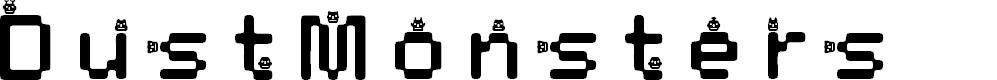 Preview image for DustMonsters Medium Font