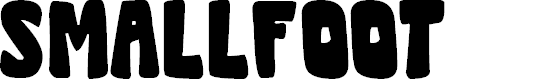 Preview image for Smallfoot Font