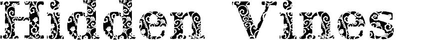 Preview image for JI Hidden Vines Font