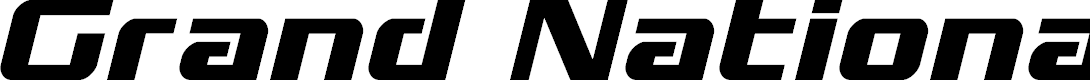 Preview image for Grand National Italic Font