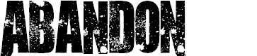 Preview image for AbandoN Font