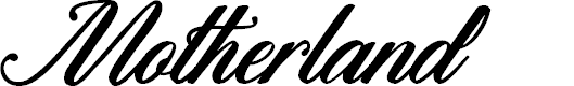 Preview image for Motherland Font