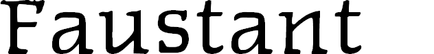 Preview image for Faustant Font
