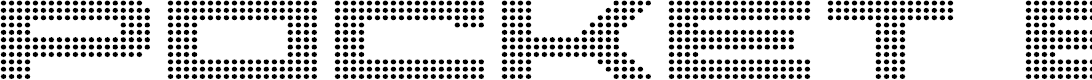 Preview image for Pocket Ball Font
