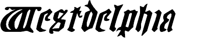 Preview image for Westdelphia Expanded Italic