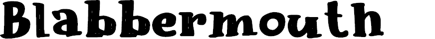 Preview image for Blabbermouth DEMO Regular Font