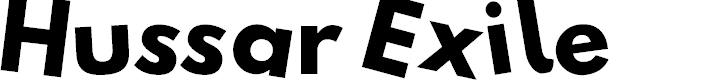Preview image for Hussar Photocopy Failure Font