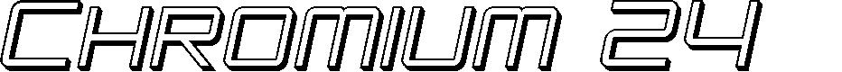 Preview image for SF Chromium 24 SC Oblique