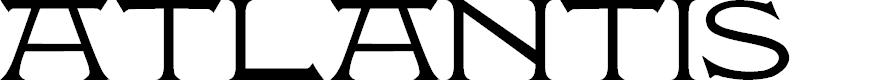 Preview image for Atlantis MF Font