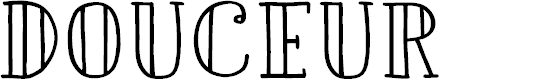 Preview image for DKDouceur Font