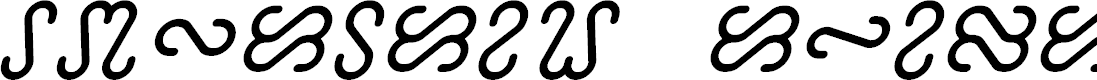 Preview image for Ophidian Italic