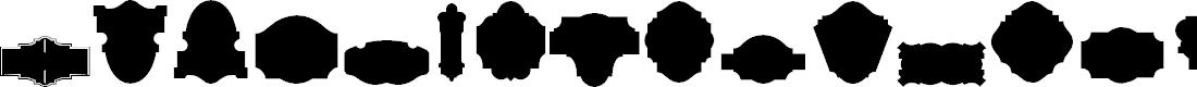 Preview image for Black Panels Free Regular Font
