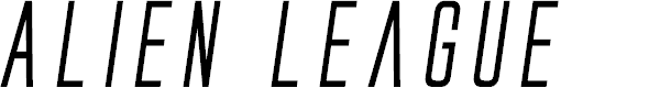 Preview image for Alien League Bold Italic