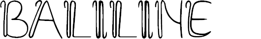 Preview image for Baliline Font