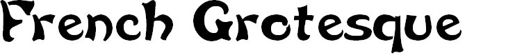 Preview image for French Grotesque Font