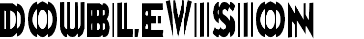 Preview image for DoubleVision Font