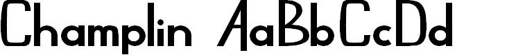 Preview image for Champlin Regular Font