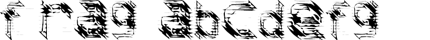 Preview image for frag Font