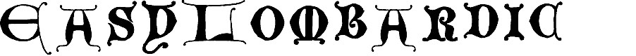 Preview image for EasyLombardic Font