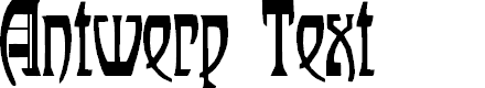 Preview image for Antwerp Text Font