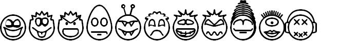Preview image for Head-Ding Maker BRK Font