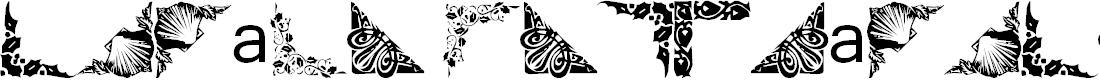 Preview image for Vintage Decorative Corners Font