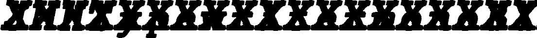 Preview image for JMHTypewritermonoBlackCross-Ita Font