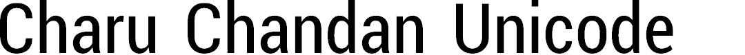 Preview image for Charu Chandan Unicode
