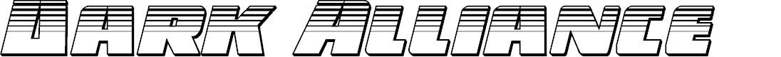 Preview image for Dark Alliance Platinum Italic