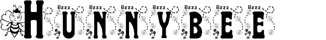 Preview image for BJF Hunnybee Font