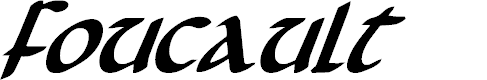 Preview image for Foucault Bold Italic