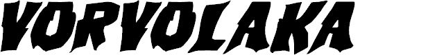 Preview image for Vorvolaka Expanded Italic