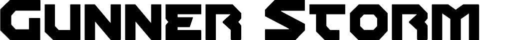 Preview image for Gunner Storm Regular Font