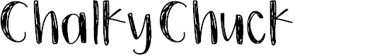 Preview image for ChalkyChuck Font
