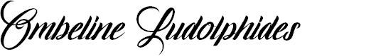 Preview image for Ombeline Ludolphides Font
