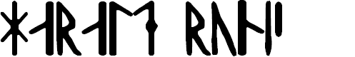 Preview image for Harald Runic Font