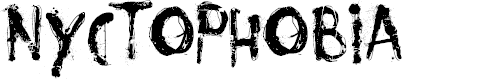 Preview image for Nyctophobia Font