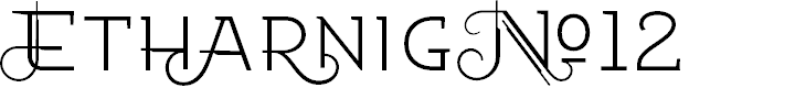 Preview image for EtharnigNo12 Font