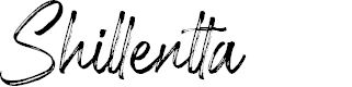 Preview image for Shillentta Personal Use Only Font