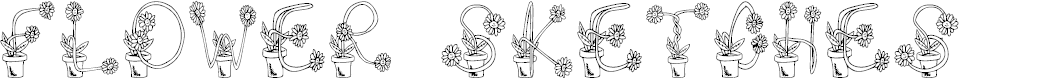 Preview image for FlowerSketches