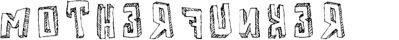 Preview image for Motherfunker Font