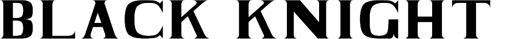 Preview image for BLACK KNIGHT Regular Font