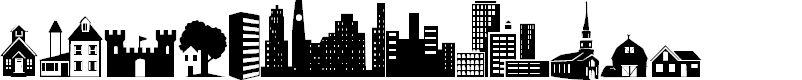 Preview image for Little City 2000 Font