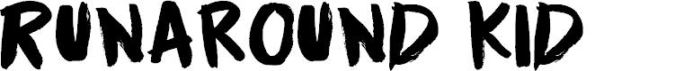 Preview image for Runaround Kid DEMO Regular Font
