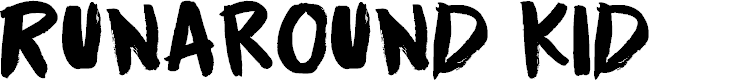 Preview image for Runaround Kid DEMO Regular Font