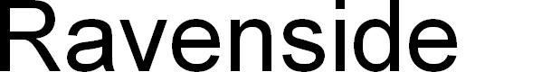 Preview image for Ravenside Font