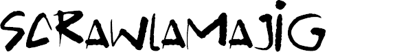 Preview image for Scrawlamajig Font